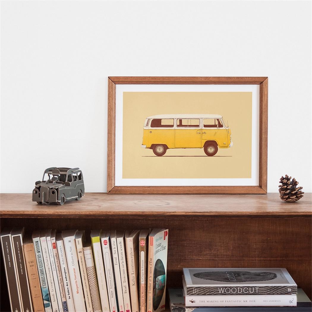 Florent Bodart - Yellow Van