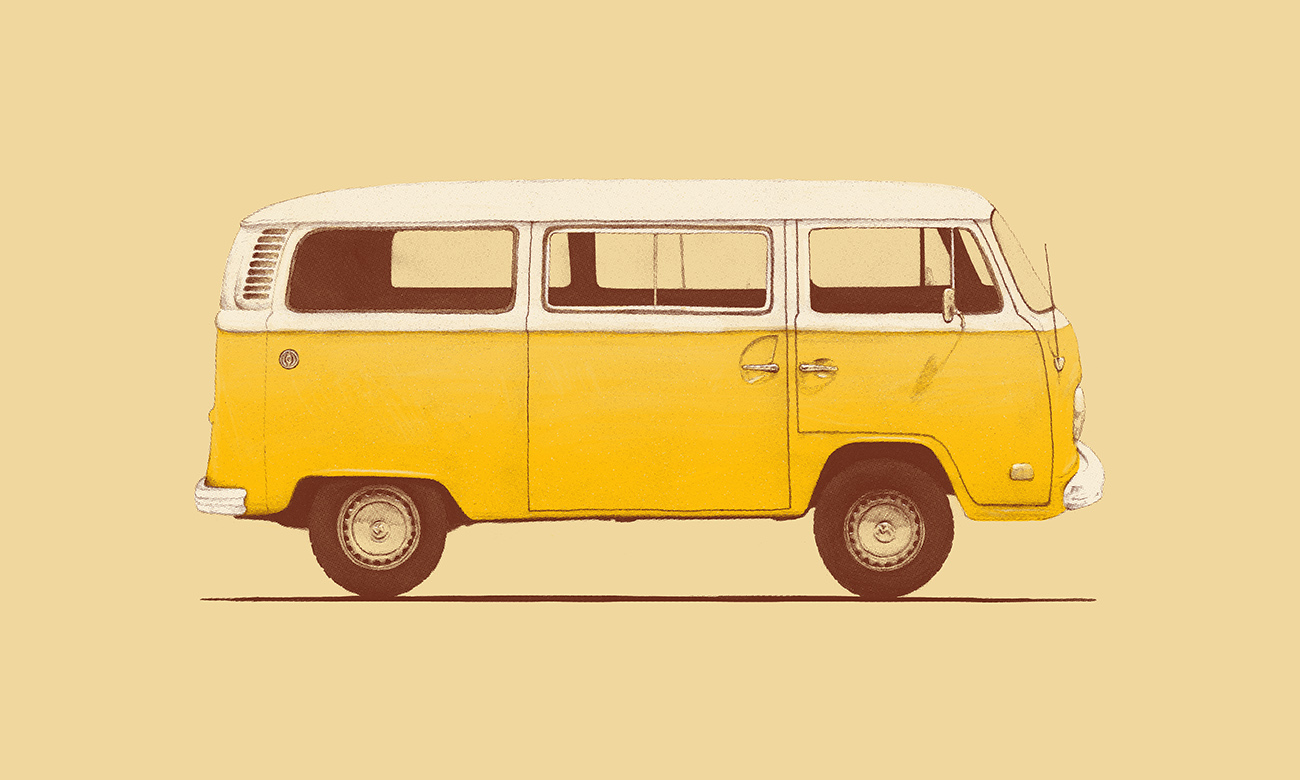 <dive><h1>Yellow Van</h1>Famous Cars</dive>