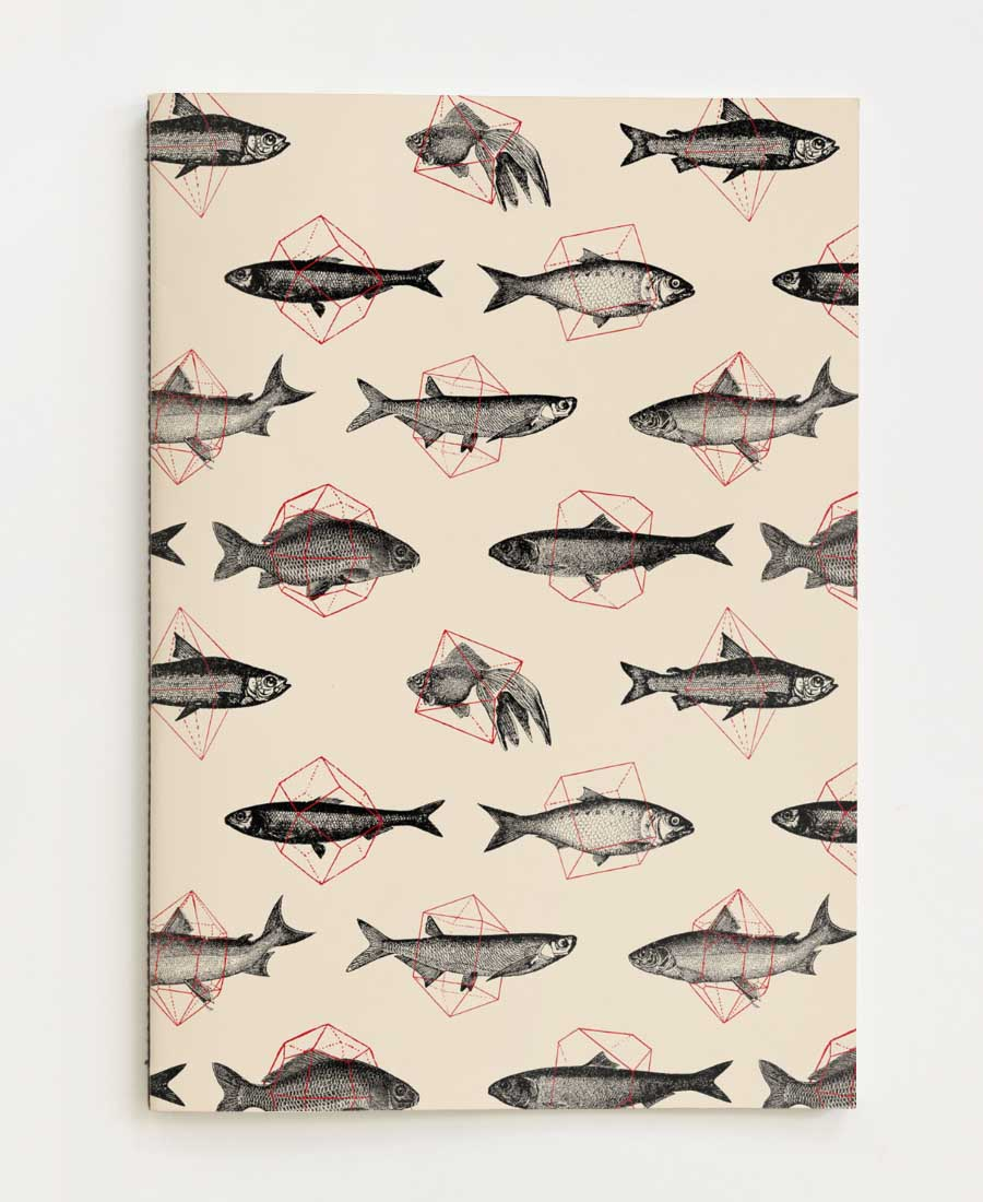 <h1>Fishes In Geometrics</h1>Juniqe