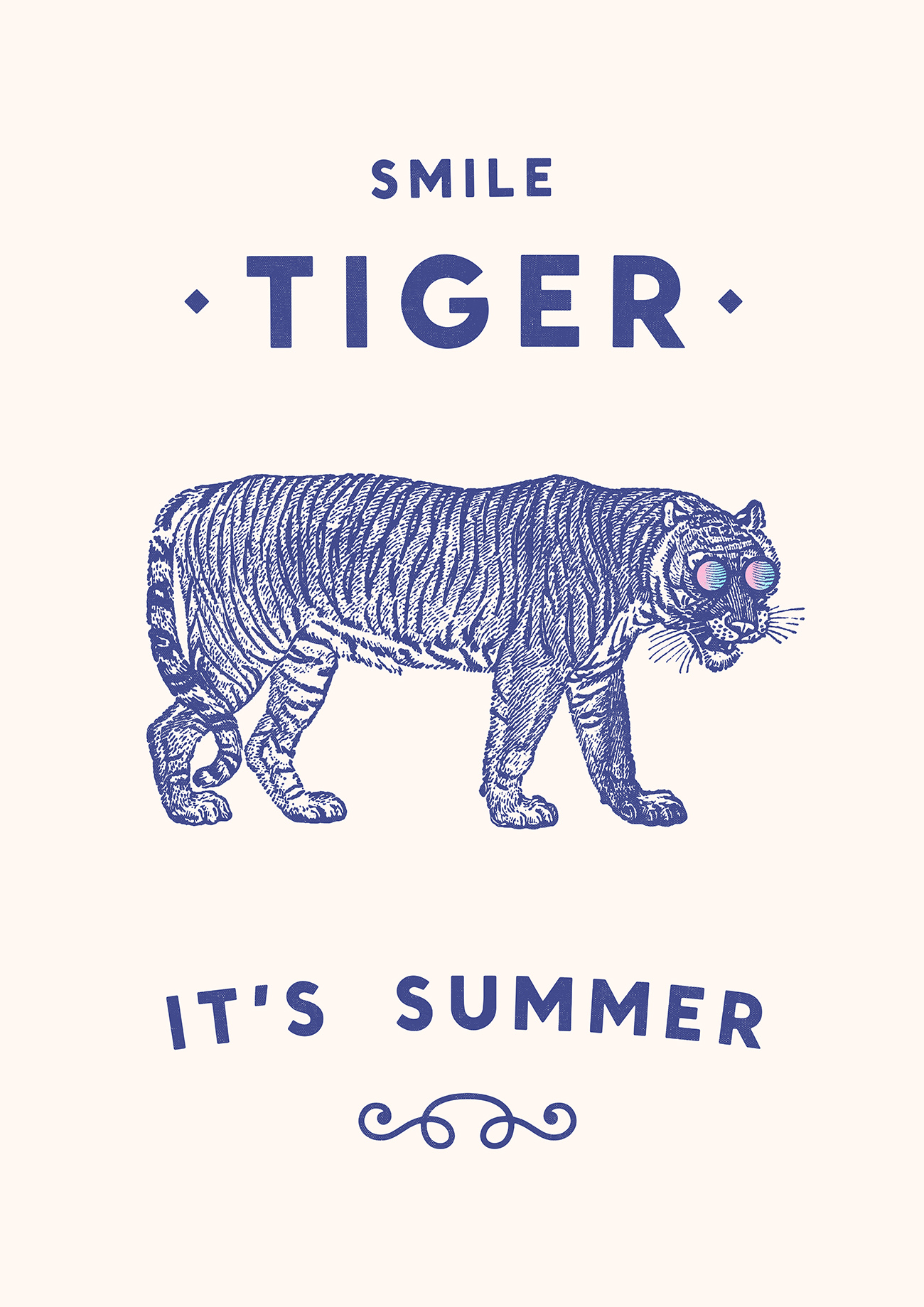 <dive><h1>Smile Tiger it's Summer</h1></dive>